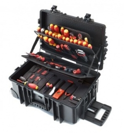 Competence XXL Electrician's case, 115 pcs.