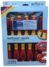 ScrewDriver set - Soft Finish Slim Fix - 12 Piece
